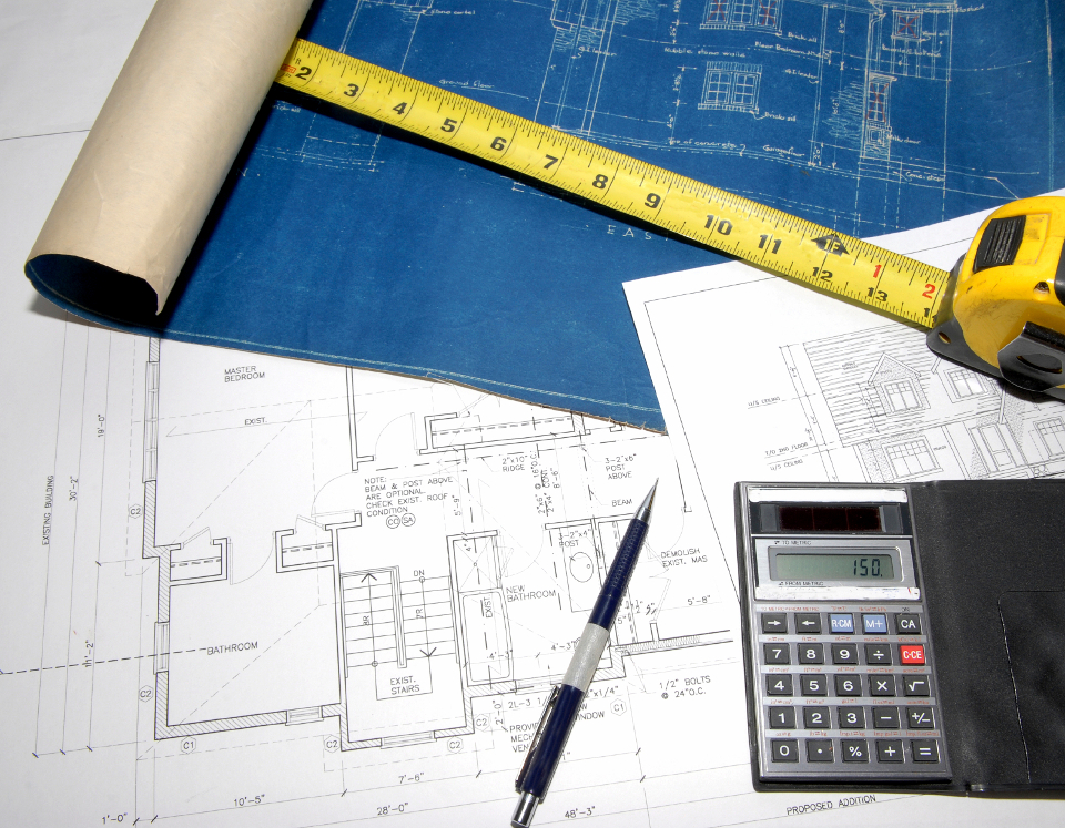 Calculator, Ruler, and Blueprints | Kern County Builders' Exchange (KCBEX) | Bakersfield, CA